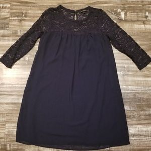 Sheer/lace dress